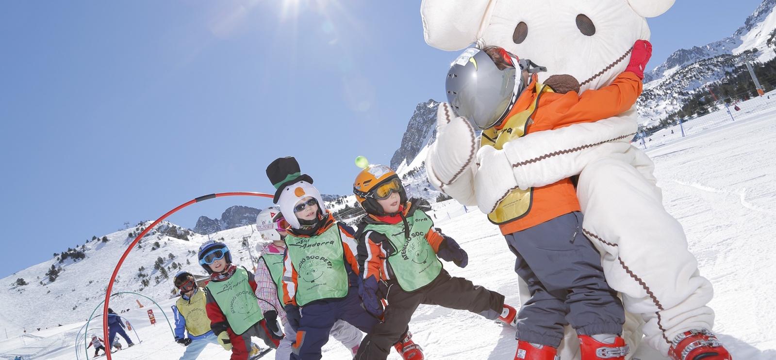 5 Mejores Estaciones Para Esquiar Con Niños